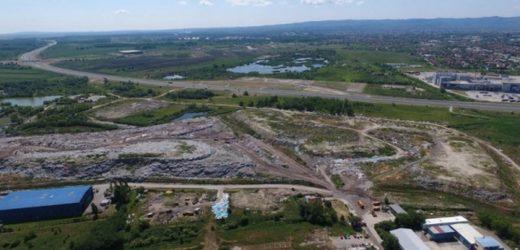 Zidanje deponije na Bojani