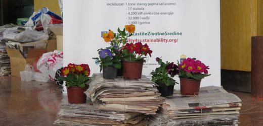 """AKCIJA: Zamenite stari papir za sadnice i ove godine na """"Novosadskom proleću"""""""