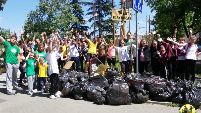 Preko 200 eko heroja i eko zvezda čistilo Dorćol