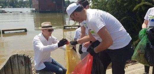 Ministar Trivan i šef Delegacije EU u zajedničkoj akciji čišćenja