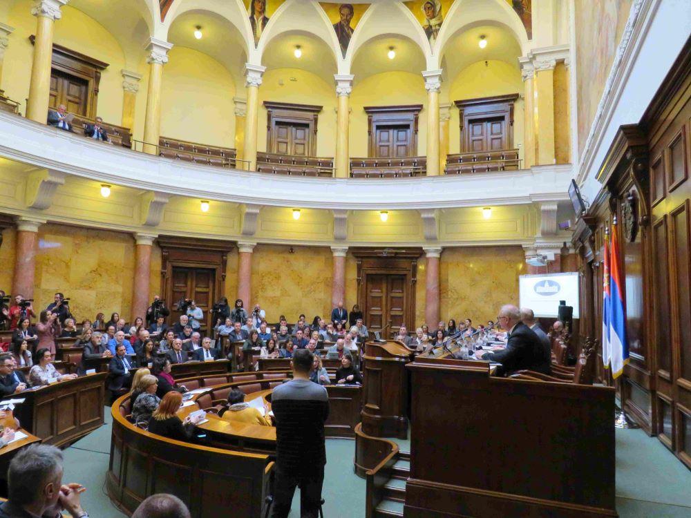 Javno slušanje o kvalitetu vazduha u Narodnoj skupštini