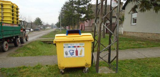 Razvoj primarne selekcije otpada u Bečeju