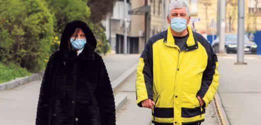 Iskorišćene maske i rukavice ne bacati po ulici