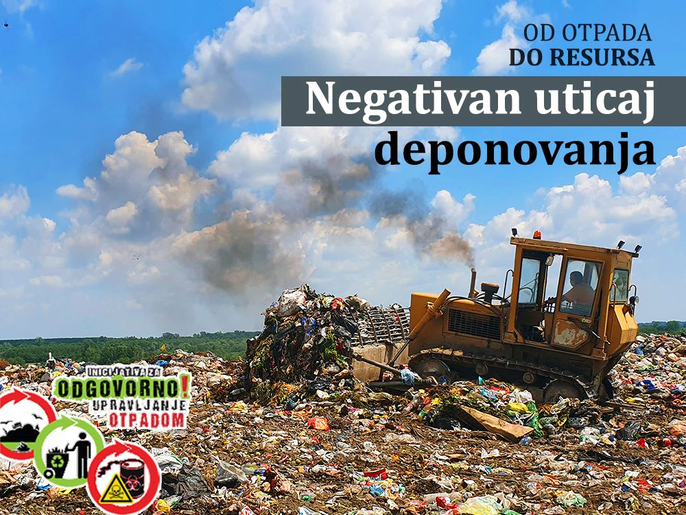 Negativan uticaj deponija na vode i zemljište
