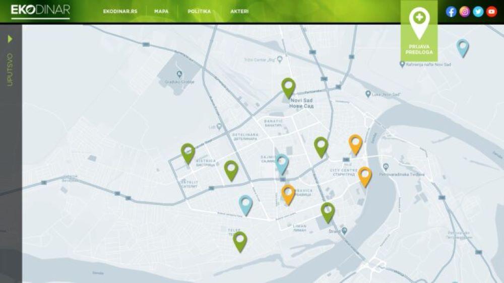 Kampanja za veće učešće građana i građanki u kreiranje politika zaštite životne sredine u Gradu Novom Sadu
