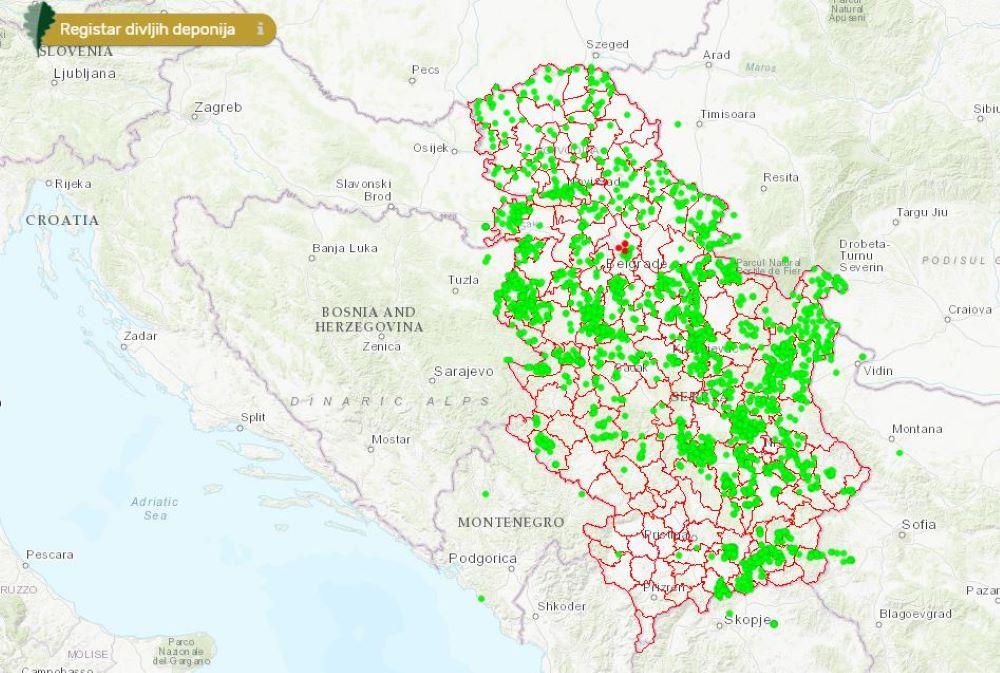 Aplikacija Prijavi divlju deponiju